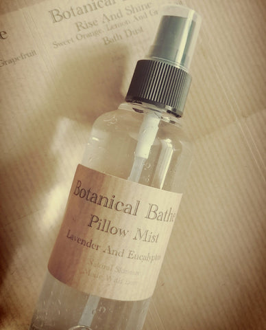 Lavender And Eucalyptus Pillow Mist