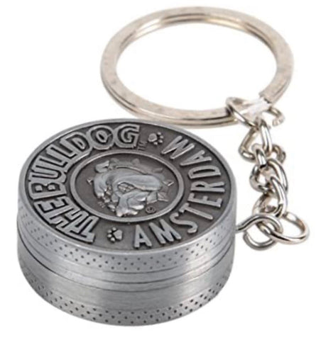 The Bulldog Amsterdam 2 parts key holder grinder