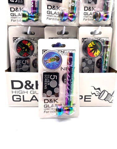 D & K high quality glass pipe kit
