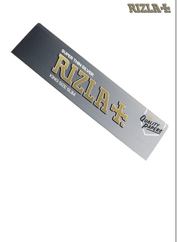 Super thin silver king size slim Rizzla