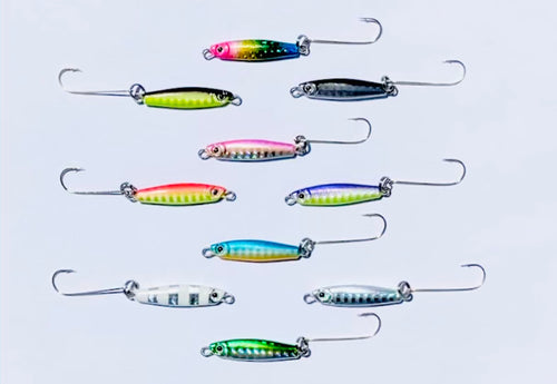 !!! FOUR NEW COLORS !!!  Snagless Crappie Bombs® Pro Series - 10 colors in ALL available - Jelifish USA