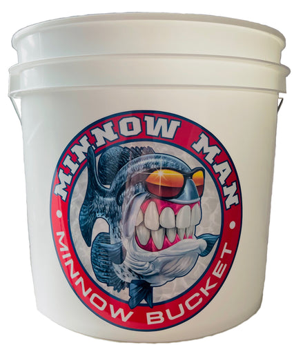 Mr. Crappie® Minnow Man - Minnow Bucket