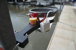 Mr. Crappie® Minnow Man - Minnow Bucket Holder Post Mounted by Jelifish USA -  NEW!!