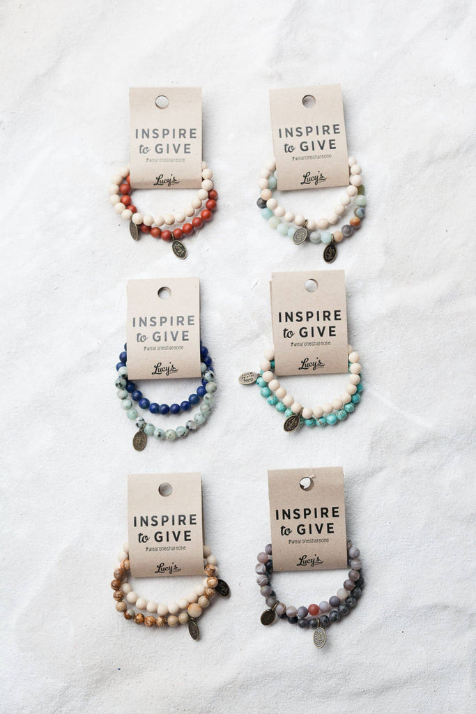 Lucy's Inspired - Inspire to Give Gabby Bracelet Set - Bundle Pack