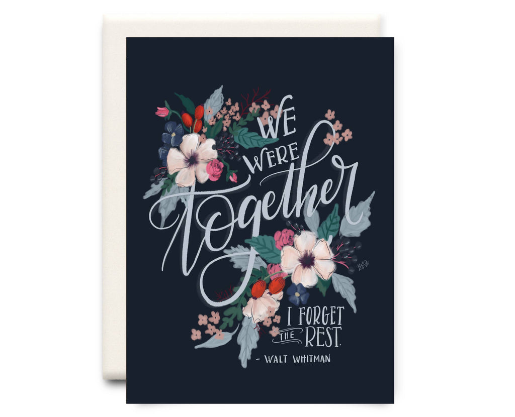 Inkwell Cards - Forget the Rest | Love Greeting Card