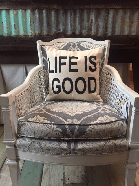 Life is Good pillow