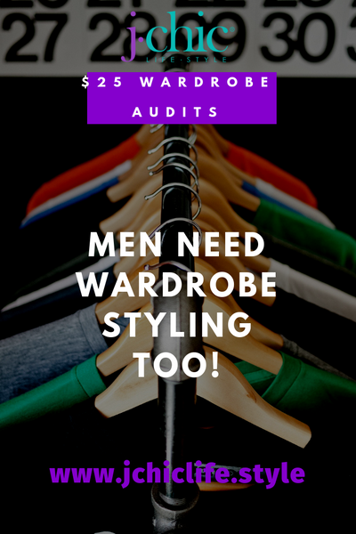 Men's Wardrobe Audit
