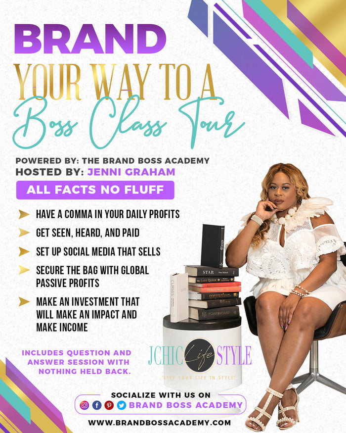 Brand your way to a boss class tour
