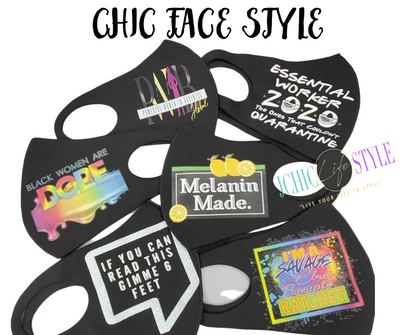 Customized face cover
