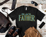 Black Father Custom TShirt