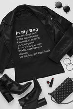 In my bag graphic tshirt