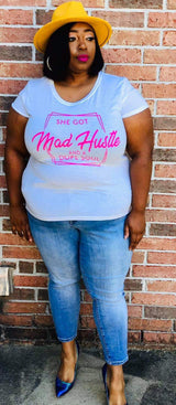 Mad hustle and dope soul tshirt and/or bag