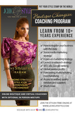 3 Month Boutique Champion Coaching Program