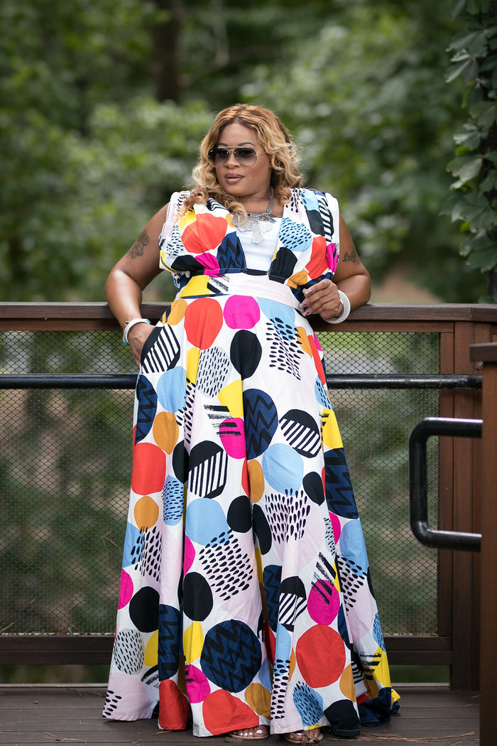 Pop Art Maxi Dress