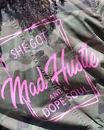 Mad Hustle Dope Soul Camo Jacket