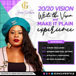 Write the Vision and Make It Plain 2020 Experience
