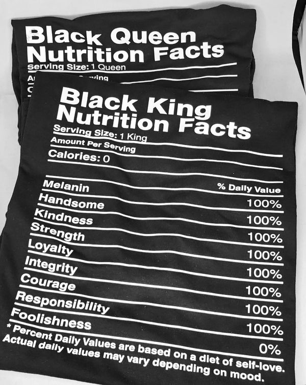 Black King/Queen Nutrition Facts
