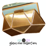 Glam Chic Collection Diamond and Bling Clutch