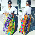 Custom Knee Length or Maxi length Skirt