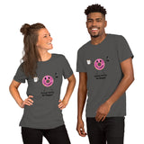 T-Shirt Unisex - Donut worry, be Happy! - KreativPrints