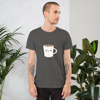T-Shirt - Good day begins with coffee!