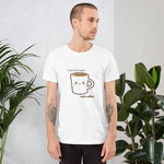 T-Shirt - Good day begins with coffee! - KreativPrints