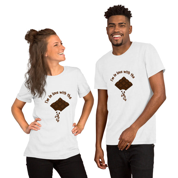 T-Shirt Unisex - I'm in love with the choco