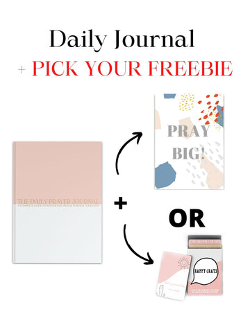 BOGO Prayer Journal + PICK YOUR FREEBIE