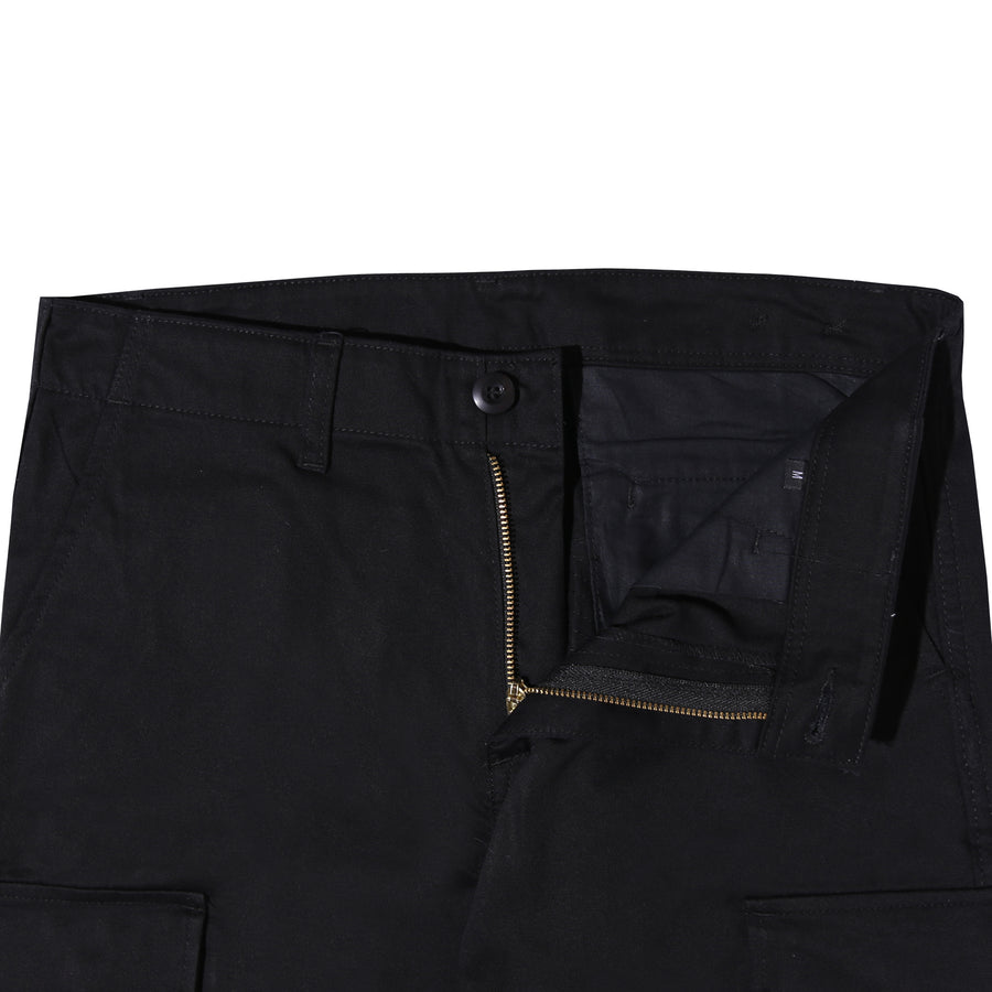 CHRONIC CARGO PANTS BROKEN TWILL BLACK F/W 20