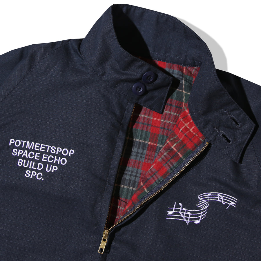 HASH HARRINGTON JACKET NAVY F/W 20