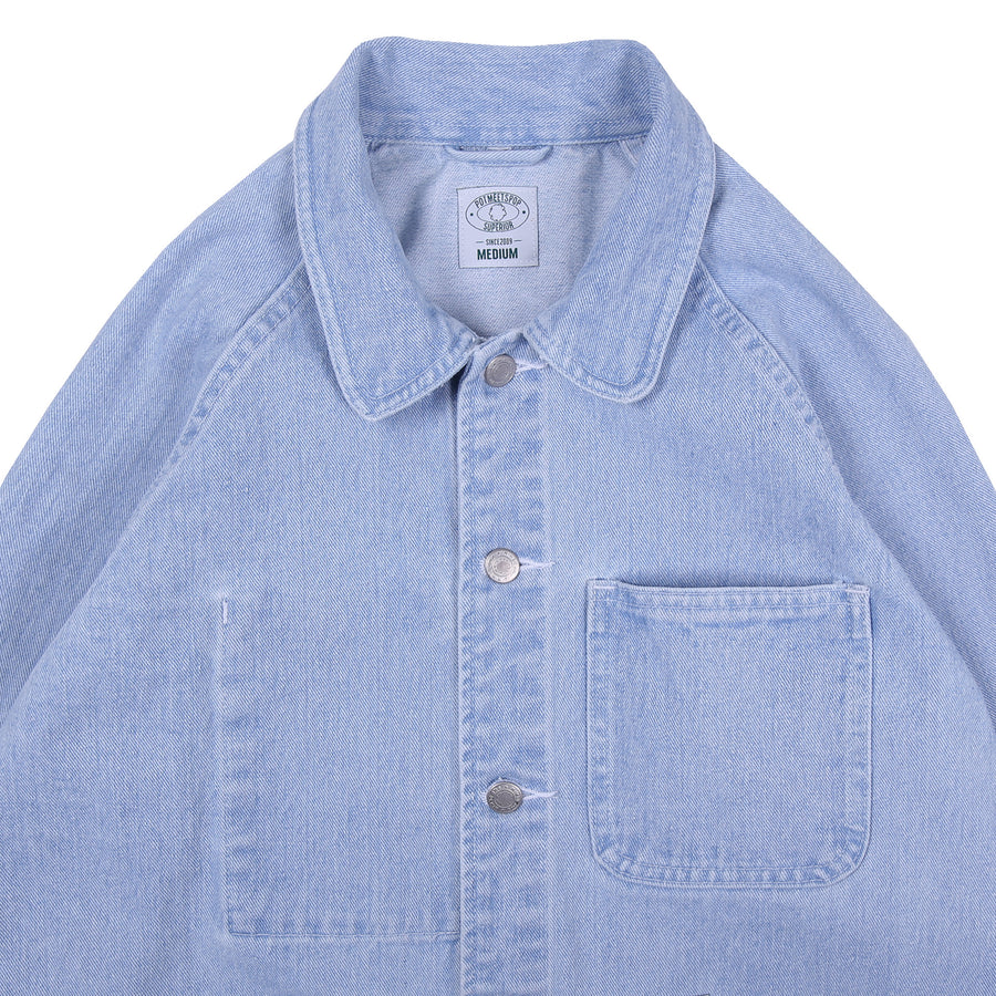 CRUTCH CHORE COAT WASHED DENIM S/S 20