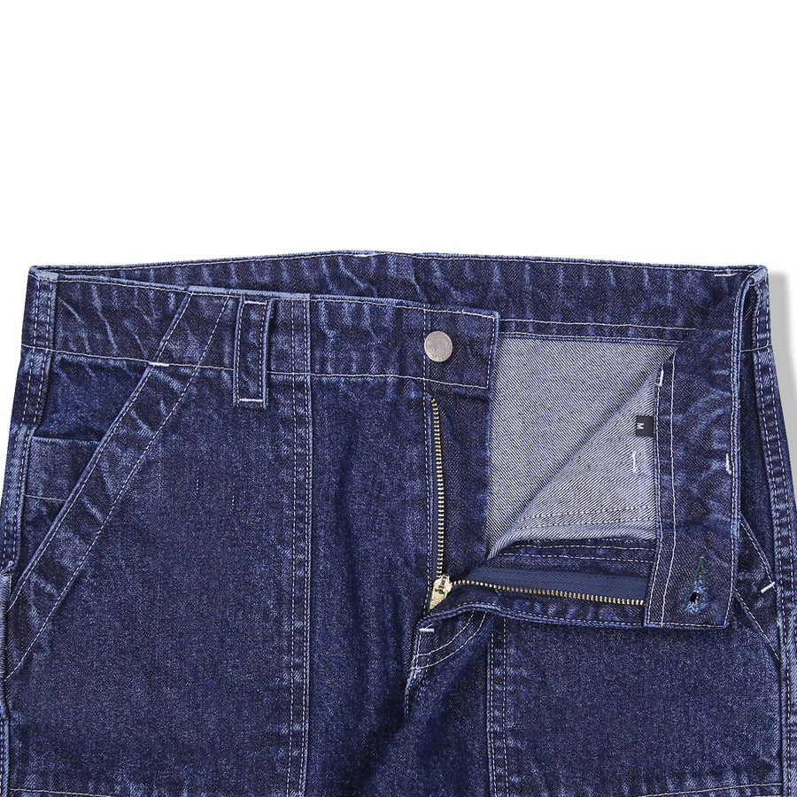 PUFF PAINTER PANTS WSHED INDIGO S/S 20