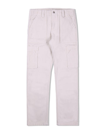 PUFF PAINTER PANTS ECRU S/S 20