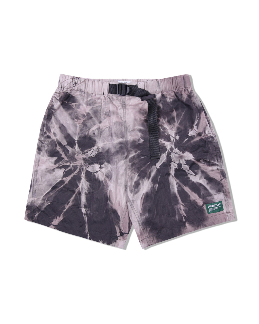 STARBUD BELTED SHORTS TIE DYE S/S 20