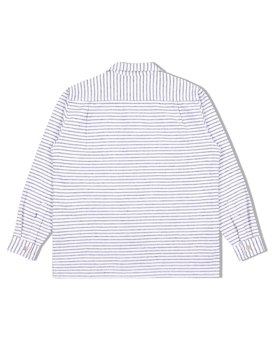 PLANT SASHIKO LOOP COLLAR SHIRT S/S 20
