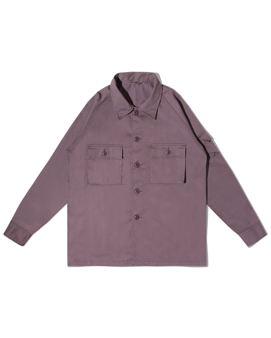 OGRE BERRY OVERSHIRT BRICK F/W 20