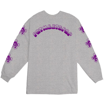 SOUL FLOWER L/S HEATHER GREY F/W 20