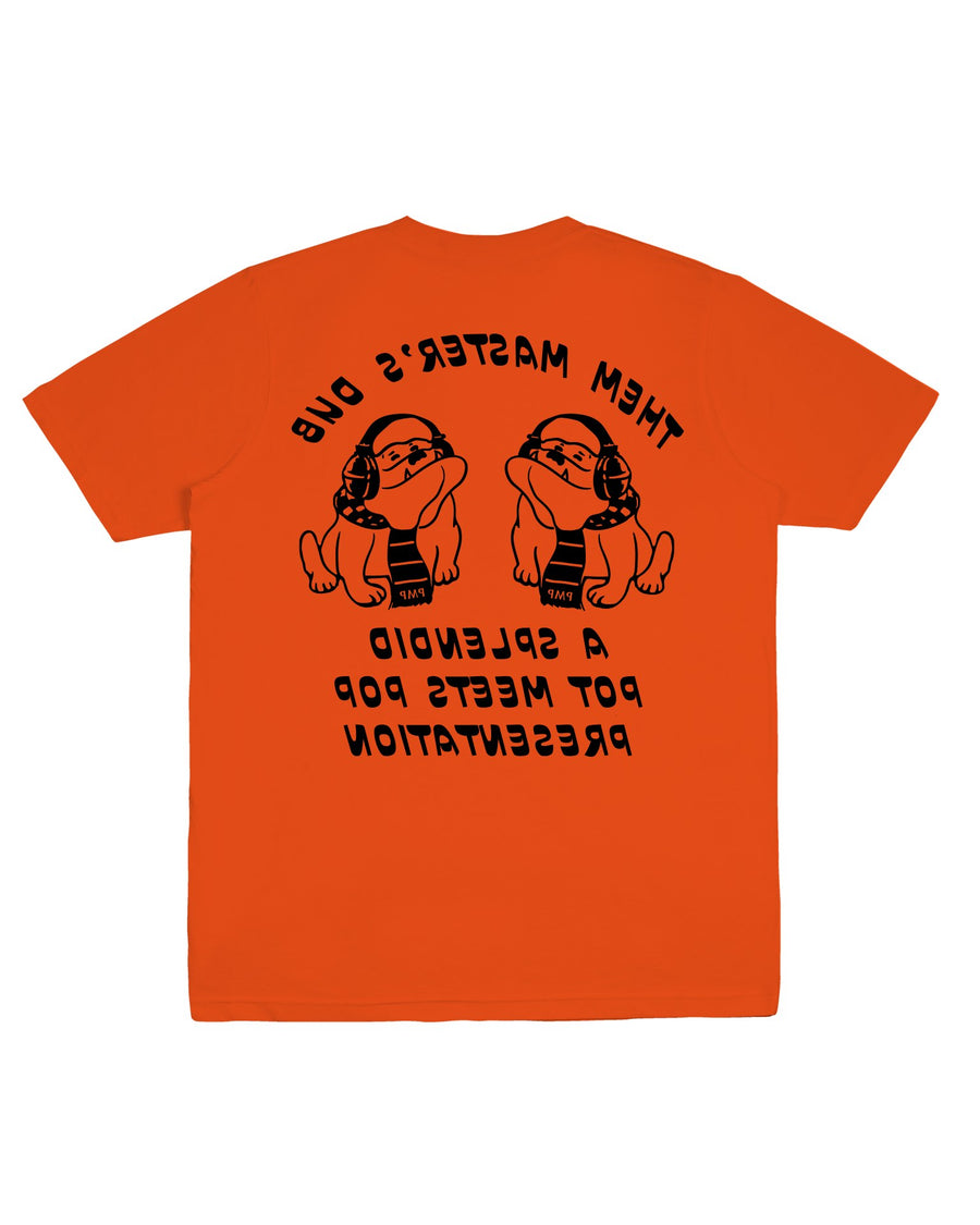 THEM MASTER DUB TEE ORANGE F/W 20