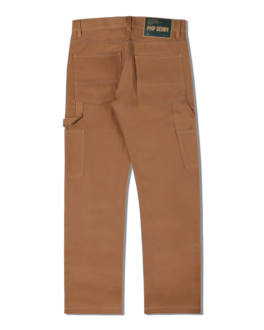 CACHO CARPENTER PANT BROWN F/W 19