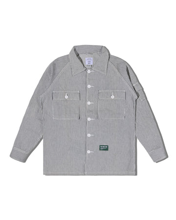 OGRE BERRY OVERSHIRT HICKORY F/W 19