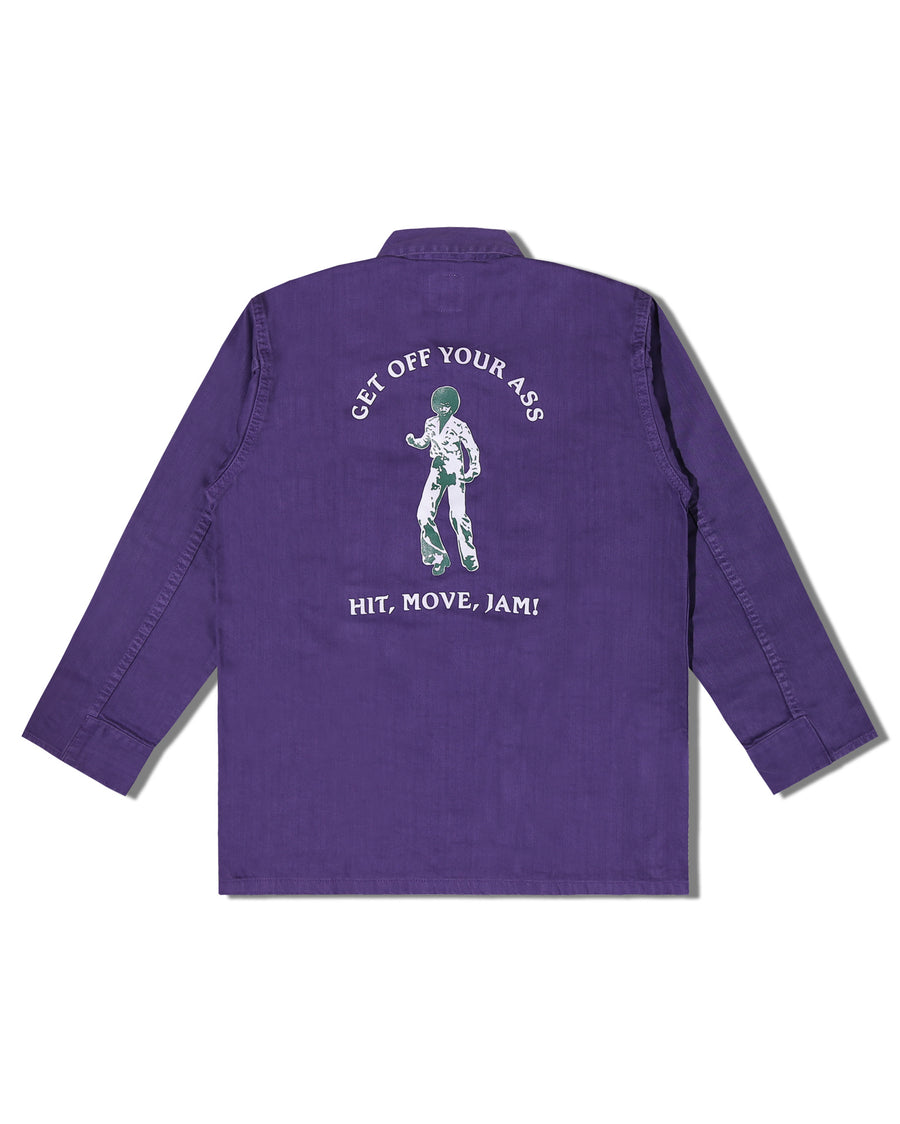 OZ ARMY JACKET PURPLE F/W 19