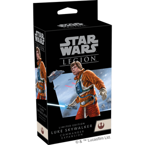 Win a Limited Edition Star Wars Legion Luke Skywalker