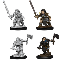 Pathfinder Deep Cuts Unpainted Miniatures: Dwarf Female Barbarian (73694)