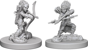 Pathfinder Deep Cuts Unpainted Miniatures: Female Gnome Rogue (73408)