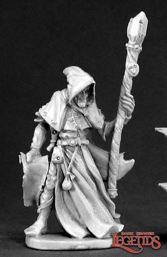 Reaper Dark Heaven Legends: Satheras Elf Warlock (03381)