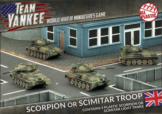 Team Yankee: British: Scorpion - Scimitar (TBBX03)