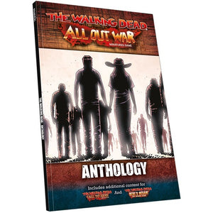 Walking Dead All Out War: Rulebook Anthology Softcover Book