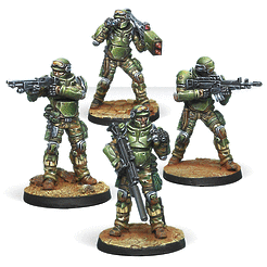 Infinity: Ariadna Marauders, 5307th Composite Ranger Unit