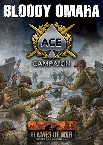 Flames of War: Late War: Bloody Omaha Ace Campaign Card Pack (FW262B)