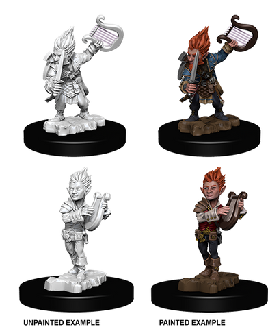 Pathfinder Battles Deep Cuts Miniatures: Gnome Male Bard (73344)
